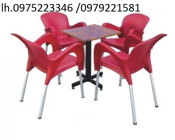 Cần thanh ý gấp số lượng lớn bàn ghế cafe nhiều loại (ghế nhựa đúc,nhựa giả mây)4