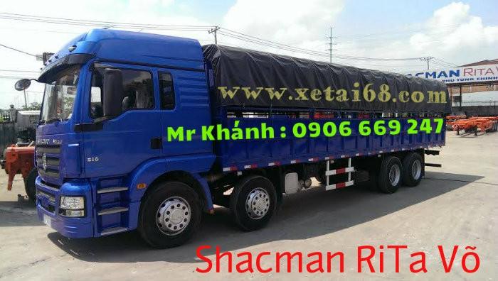 Xe tải 5 chân shacman 5