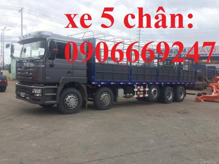 Xe tải 5 chân shacman 10