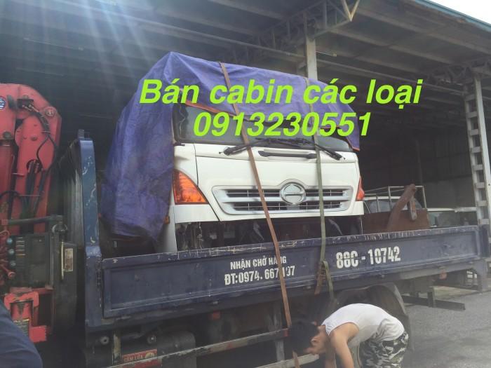 Bán cabin hino các loại isuzu dongfeng jac chenglong balong thaco ollin