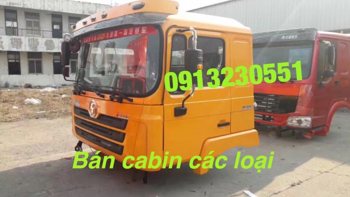 Bán cabin shacman f3000 dongfeng camc jac