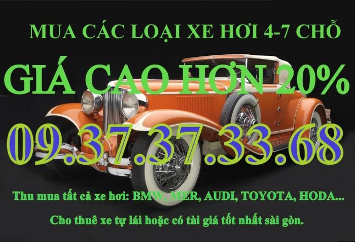 Cần mua ô tô 4-7 chỗ các loại giá cao tại hồ chí minh