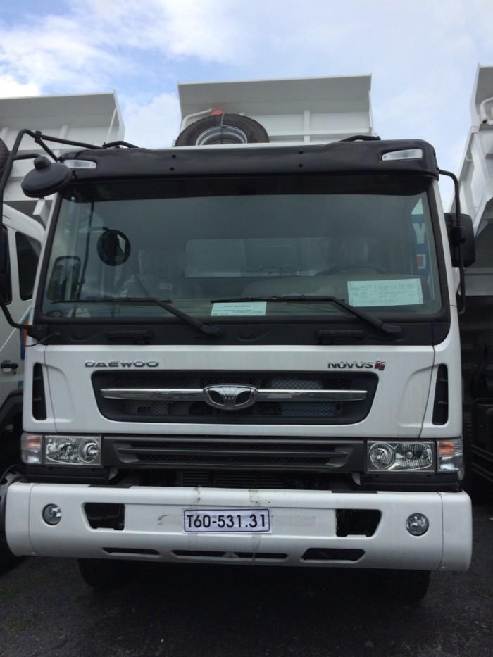 Daewoo ben 15 tấn nhập khẩu nguyên chiếc