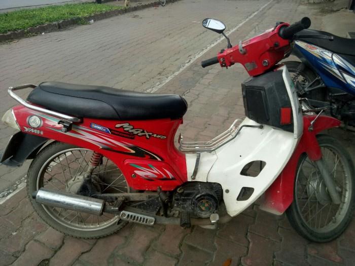 Xe Max 100 hiệu Kawasaki (YMH) màu đỏ ( Xe Nhật)