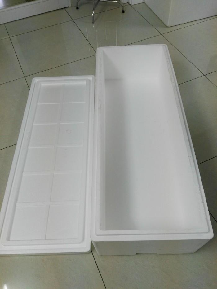 Thùng xốp ngoài đóng hàng thực phẩm vận chuyển đi xa, còn được dùng làm trong việc chồng rau thủy canh0