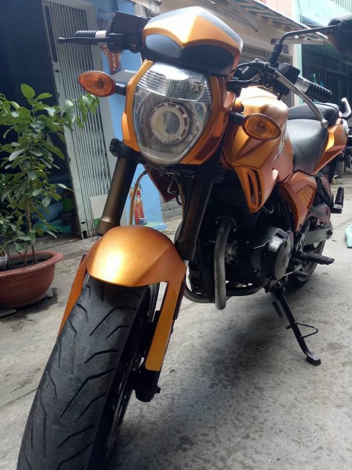 Moto Rebel CBR 125c màu cam phong cách biển 89,98 mới 95%