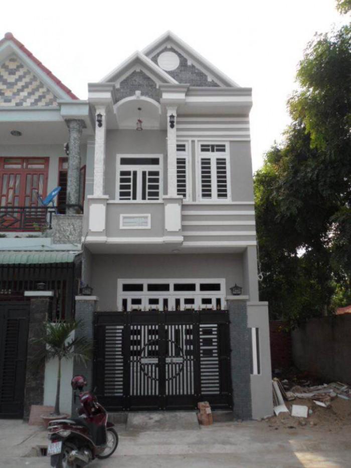 Nhà 1 Lầu 1 Trệt 4x22m SHR