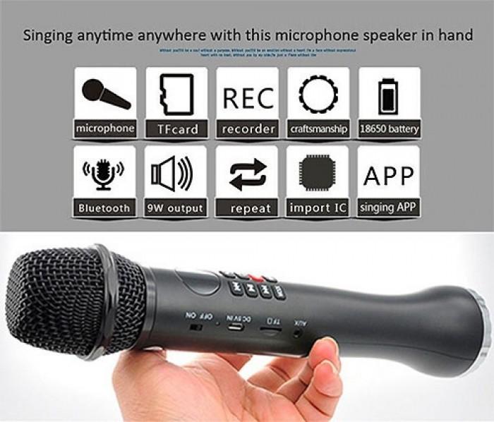 Micro Bluetooth Karaoke cao cấp thế hệ mới L-598 sử dụng chip JL Bluetooth tiên tiến