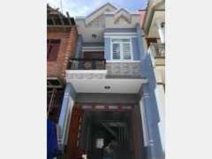 Nhà mới xây giá 840Tr/1 căn, Gò Đen giáp Bình Chánh, Nhà 1 trệt, 1 lầu