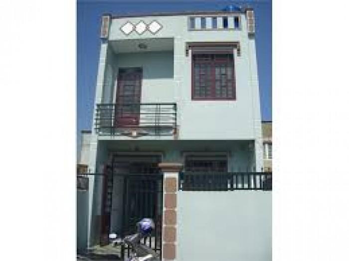 Nhà mới 1 lầu, 420 Triệu nhận nhà, 4PN,2 Tolet