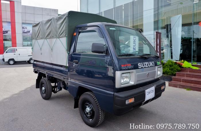 Cần bán xe Suzuki 5 tạ, Suzuki truck, thùng kín, thùng phủ bạt, giao xe ngay 6