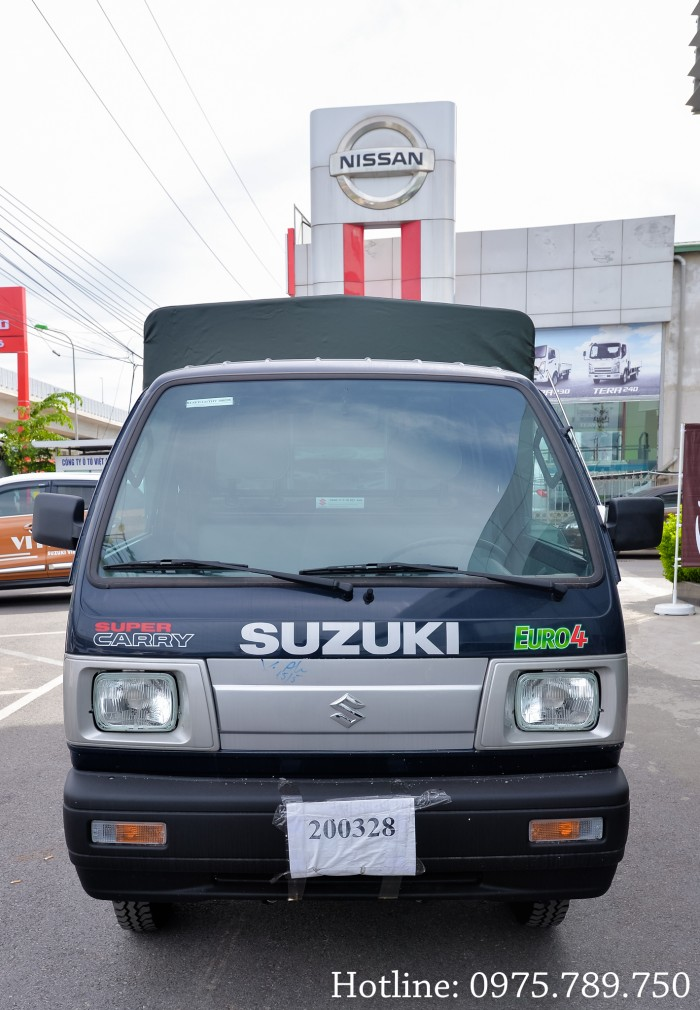 Cần bán xe Suzuki 5 tạ, Suzuki truck, thùng kín, thùng phủ bạt, giao xe ngay 7