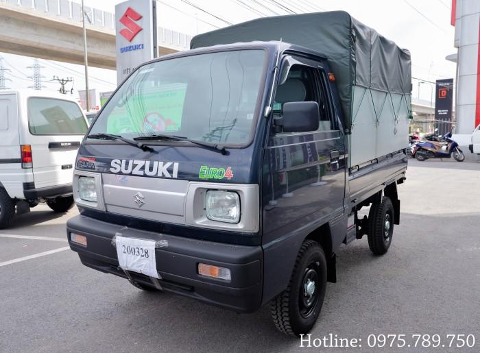 Cần bán xe Suzuki 5 tạ, Suzuki truck, thùng kín, thùng phủ bạt, giao xe ngay 8