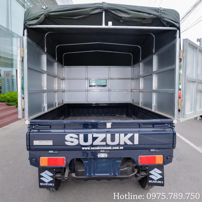 Cần bán xe Suzuki 5 tạ, Suzuki truck, thùng kín, thùng phủ bạt, giao xe ngay 10