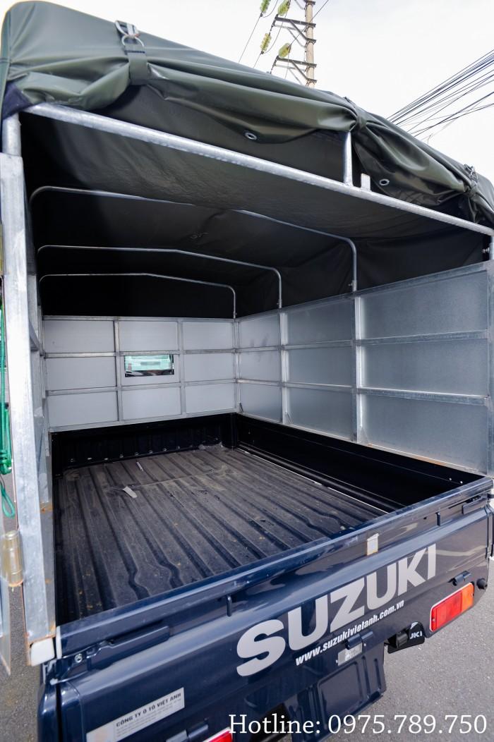Cần bán xe Suzuki 5 tạ, Suzuki truck, thùng kín, thùng phủ bạt, giao xe ngay 11