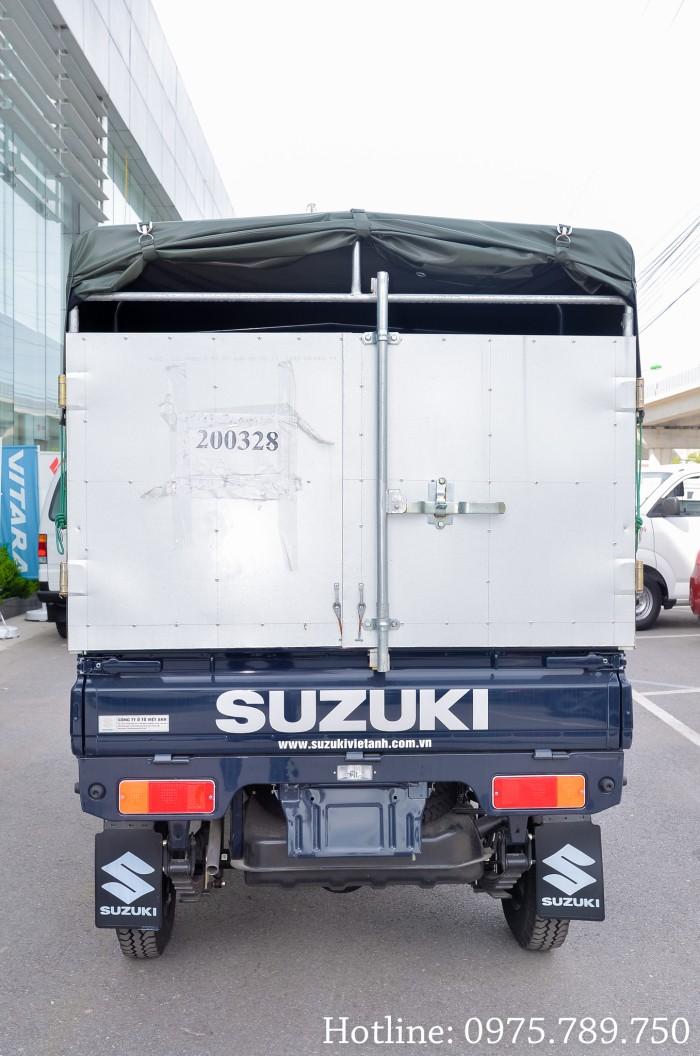 Cần bán xe Suzuki 5 tạ, Suzuki truck, thùng kín, thùng phủ bạt, giao xe ngay 12