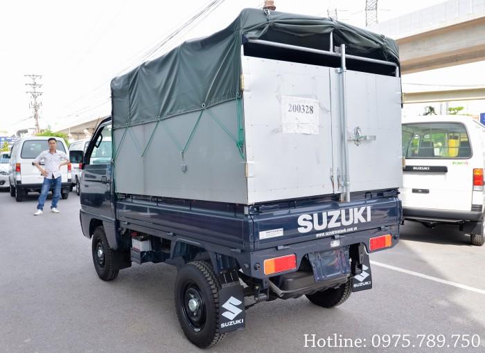 Cần bán xe Suzuki 5 tạ, Suzuki truck, thùng kín, thùng phủ bạt, giao xe ngay 13
