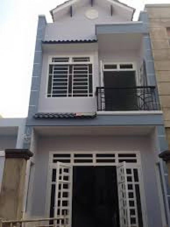Nhà mới 1 tấm đúc thật 96m2 hương lộ 80 bhh B BT