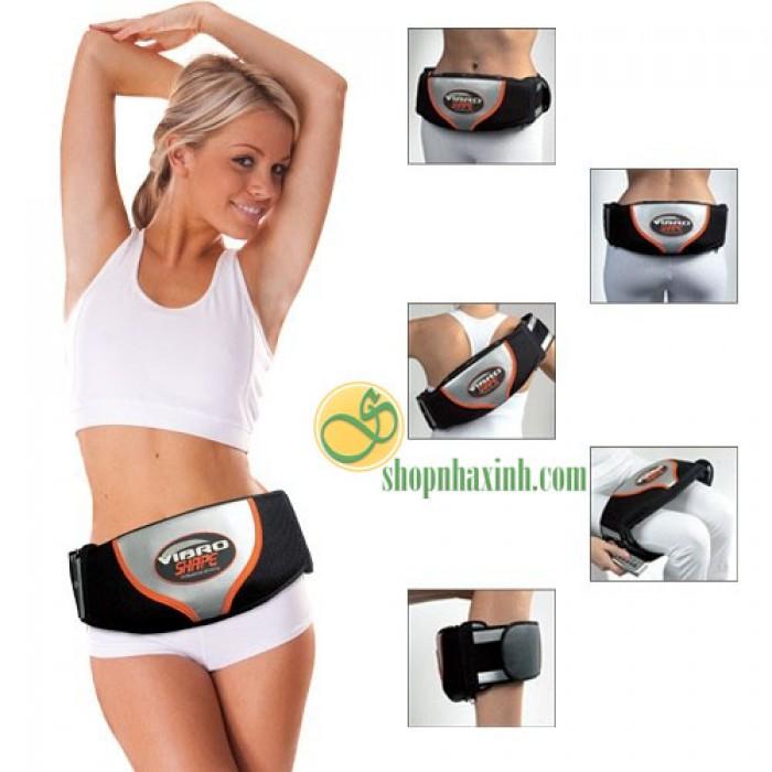 Đai giảm béo massage vibro shape
