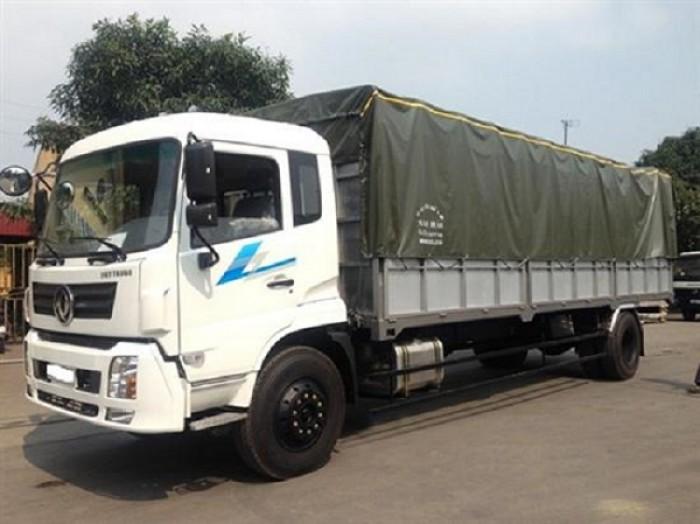 Dongfeng Việt Trung 9.5 tấn thùng bạt hỗ trợ vay vốn tối đa 0