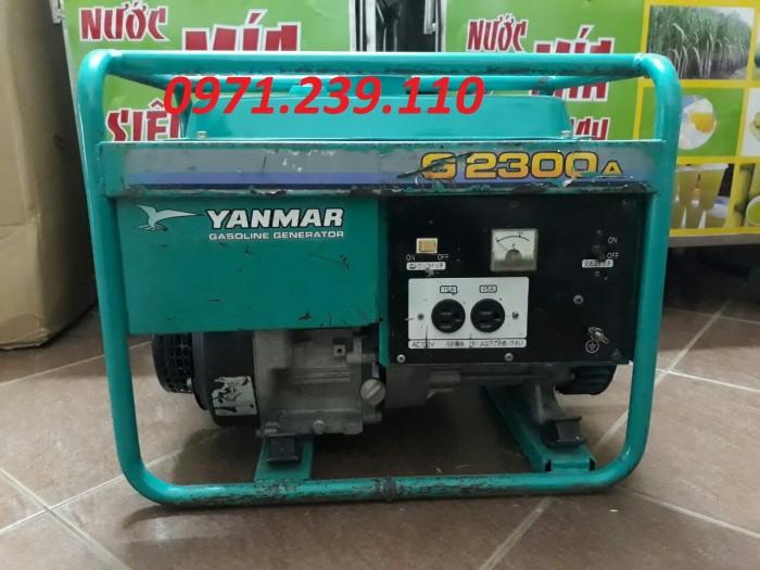 Máy phát điện YANMAR G-2300A bãi Nhật nhập khẩu nguyên chiếc giá rẻ nhất được bán tại Cầu Diễn