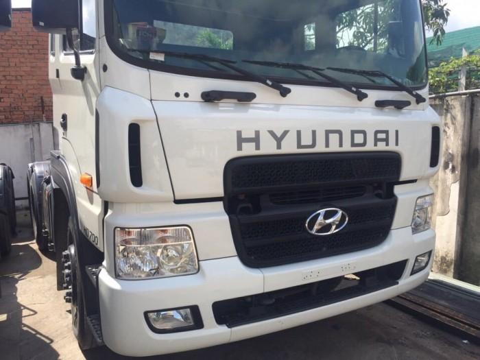 Đầu kéo hyundai hd700 cũ 2014