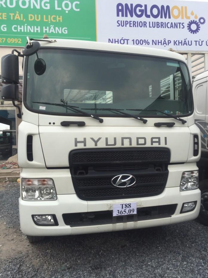 Đầu kéo hyundai hd700 cũ 2014 6