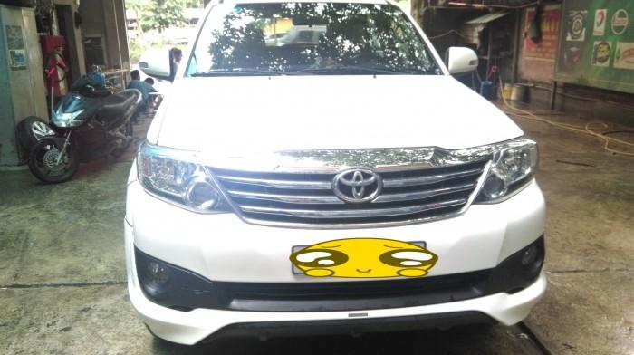 Xe Toyota Fortuner Sportivo 2014, nhập khẩu, đẹp như mới