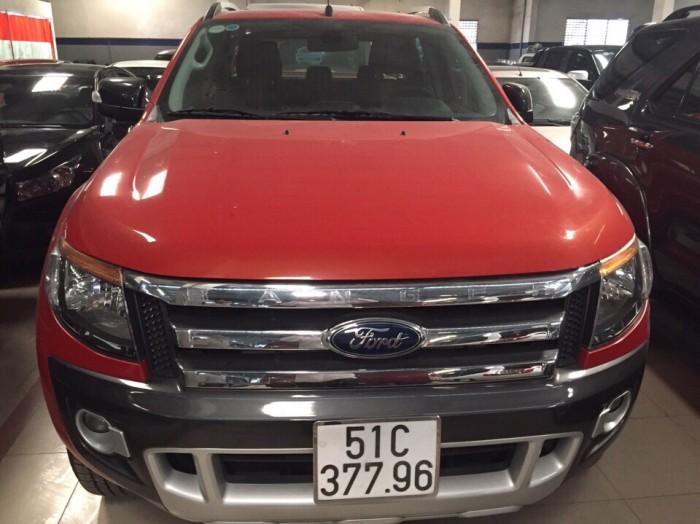 Bán Ford Ranger Wiltrack sx 2013 màu cam,thùng thấp 2