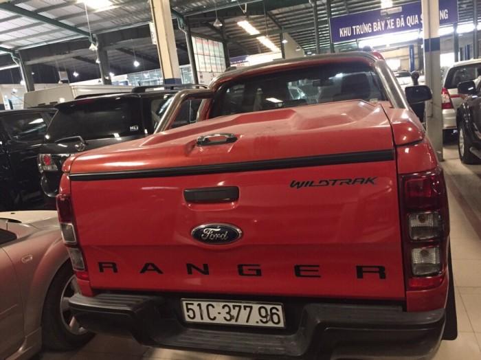 Bán Ford Ranger Wiltrack sx 2013 màu cam,thùng thấp 4