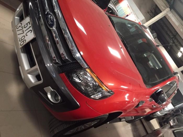 Bán Ford Ranger Wiltrack sx 2013 màu cam,thùng thấp 3