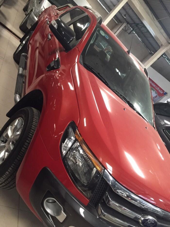 Bán Ford Ranger Wiltrack sx 2013 màu cam,thùng thấp 1