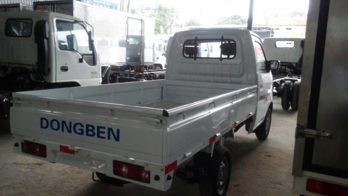 Xe tải nhẹ Dong ben, khuyến mãi 100% thuế trước bạ