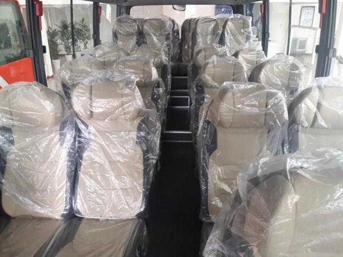 Xe khách Hyundai County 29 chỗ, nhiều màu, trả trước 300 triệu, giao xe trong 5 ngày