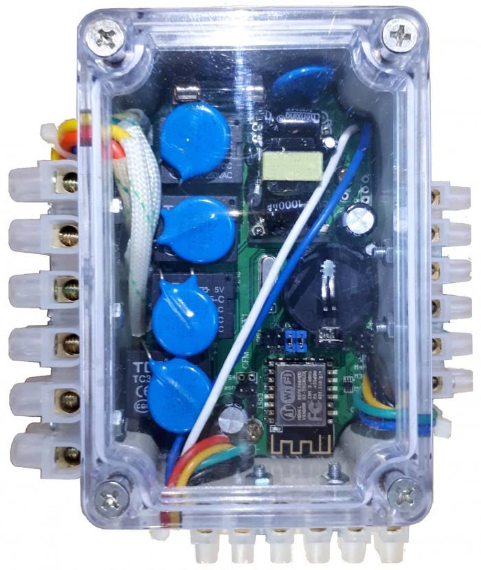 Thiết bị điều khiển TPWS - Hẹn giờ, nhiệt độ, độ ẩm0