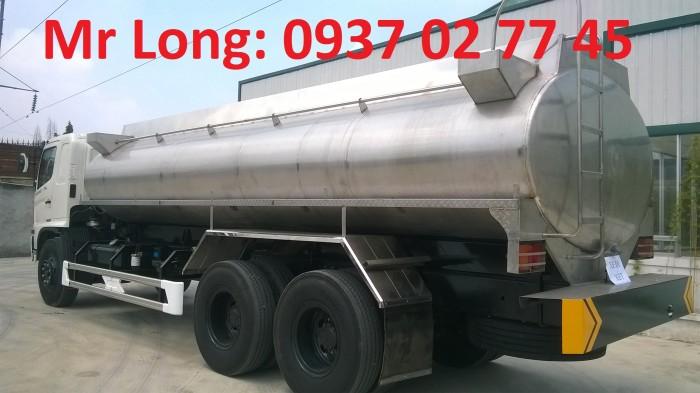 Xe bồn Hino 15 tấn chở dầu thực vật, xe bồn Hino 3 chân chở dầu thực vật , Xe tải chở dầu thực vật , Xe chở dầu cá , Xe bồn INOX chở sữa , xe HINO FL8JT7A bồn inox chở dầu ăn , xe chở dầu ăn 16 khối 2