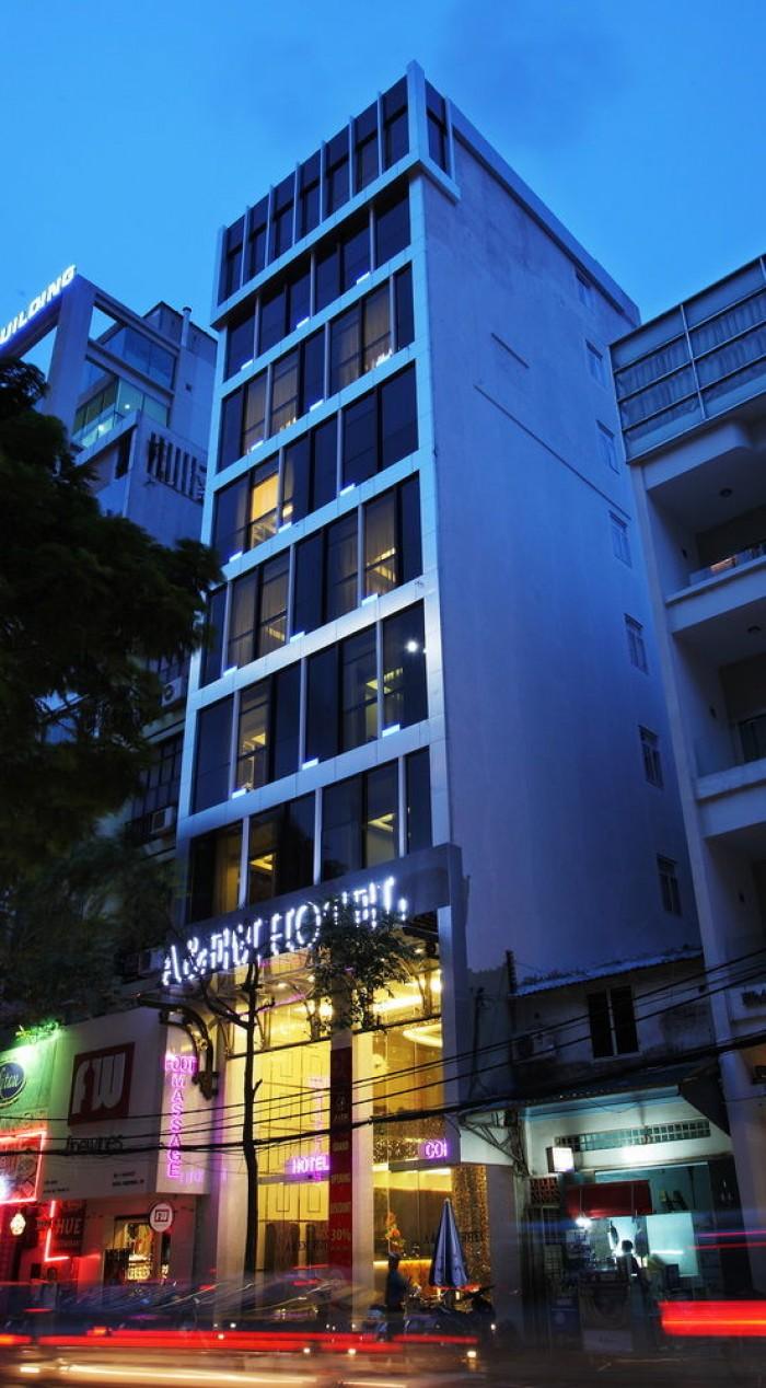 Nhà Bán MT Hai Bà Trưng.P6.Q3, Hầm, 8 lầu, HĐ thuê: 200tr/tháng