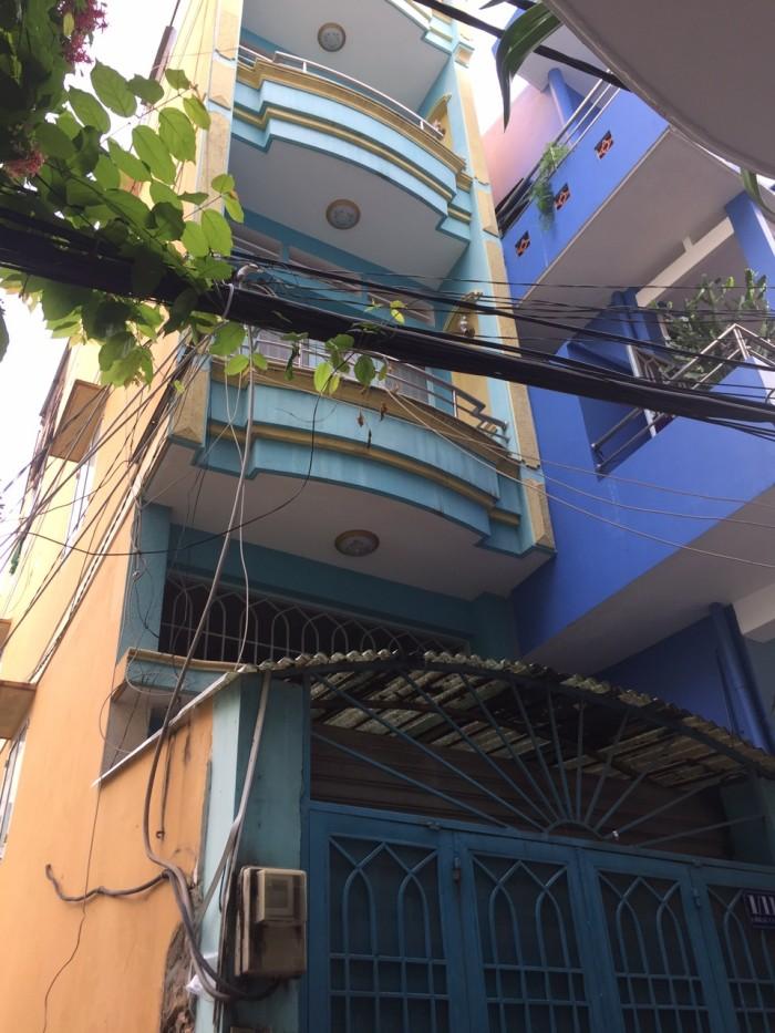Kẹt tiền bán gấp nhà HXT giá cực hấp dẫn đường Hồng Lạc phường 10 quận Tân Bình.