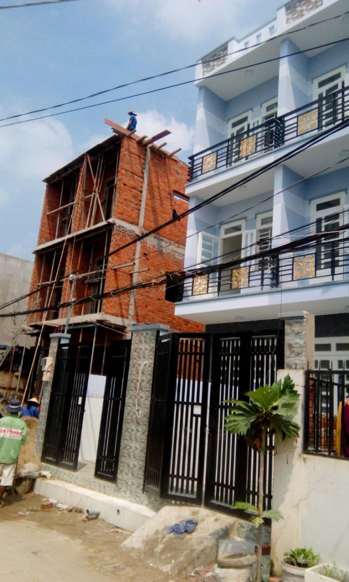 Nhà phố Chính chủ gần chợ Bà Hom 2 tấm mới xây tỉnh lộ 10 tân tạo BT