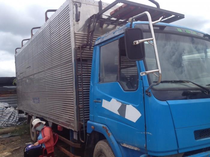 Xe tải cũ dongfeng 5 tấn đời 2009 thùng bạt 1