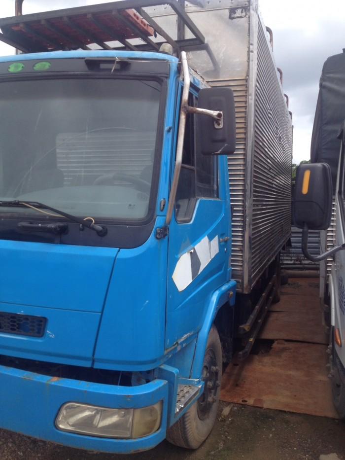 Xe tải cũ dongfeng 5 tấn đời 2009 thùng bạt 3