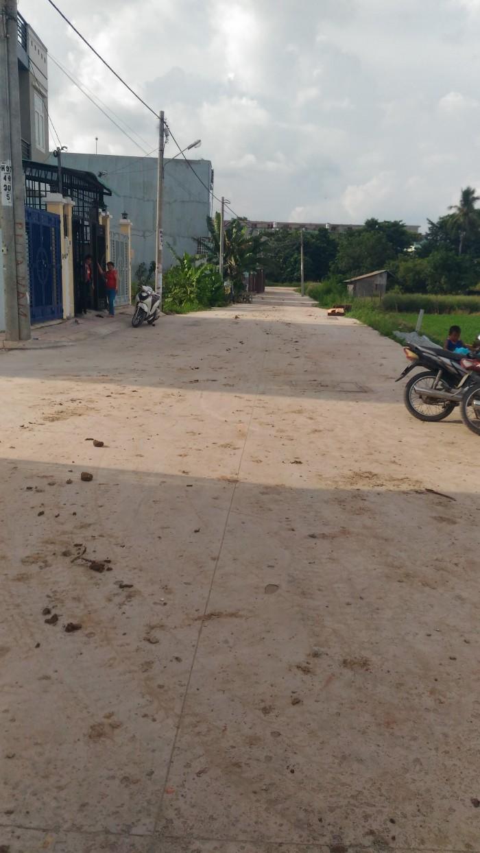 Nhà SHR gần Ủy ban phường Thạnh Xuân, Q12 đúc một trệt, hai lầu