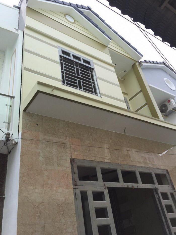 Bán Nhà Mới 1 Trệt 1 Lầu Hẻm 423 Đ.Trần Quang Diệu, P.An Thới, Q.Bình Thủy 5x9m Thổ Cư