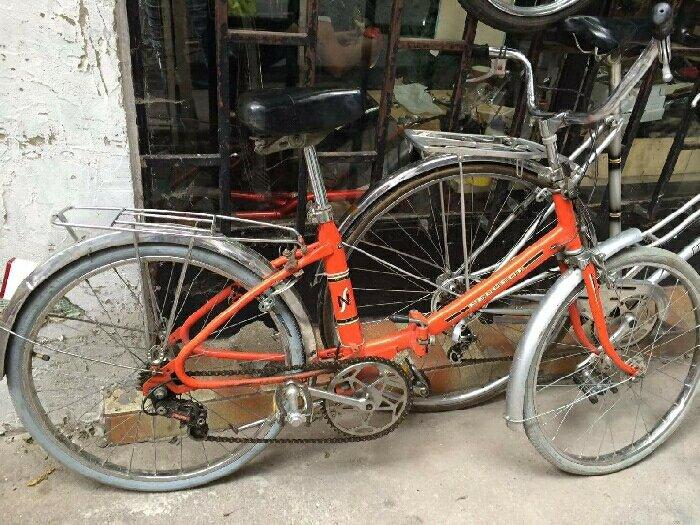 Xe đạp Peugeot mini gấp