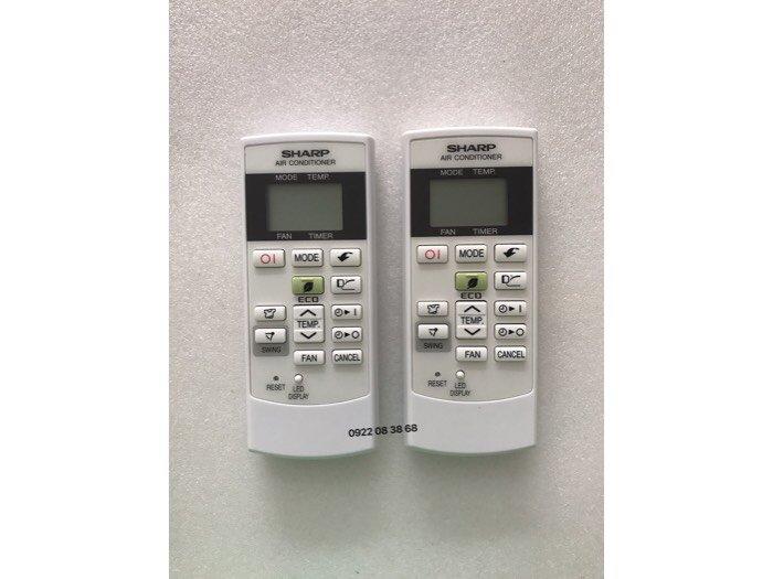 Remote Máy Lạnh SHARP, Chính Hãng, Mới 100%, Tặng kèm 2 Pin 3A, Giá 270k