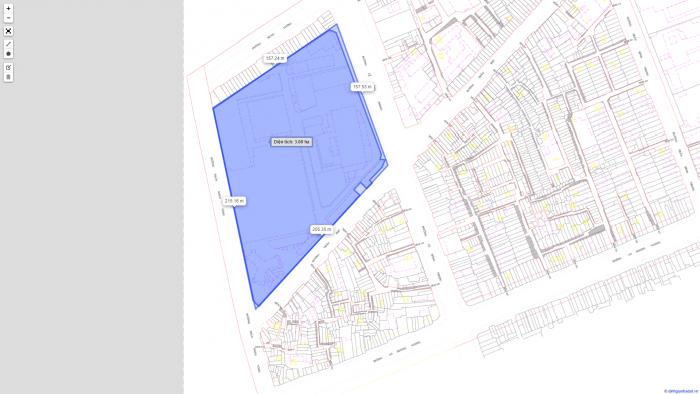 Bán khu đất 3 mặt tiền Trần Phú, P. 4, Quận 5. Giá 135 triệu : m2