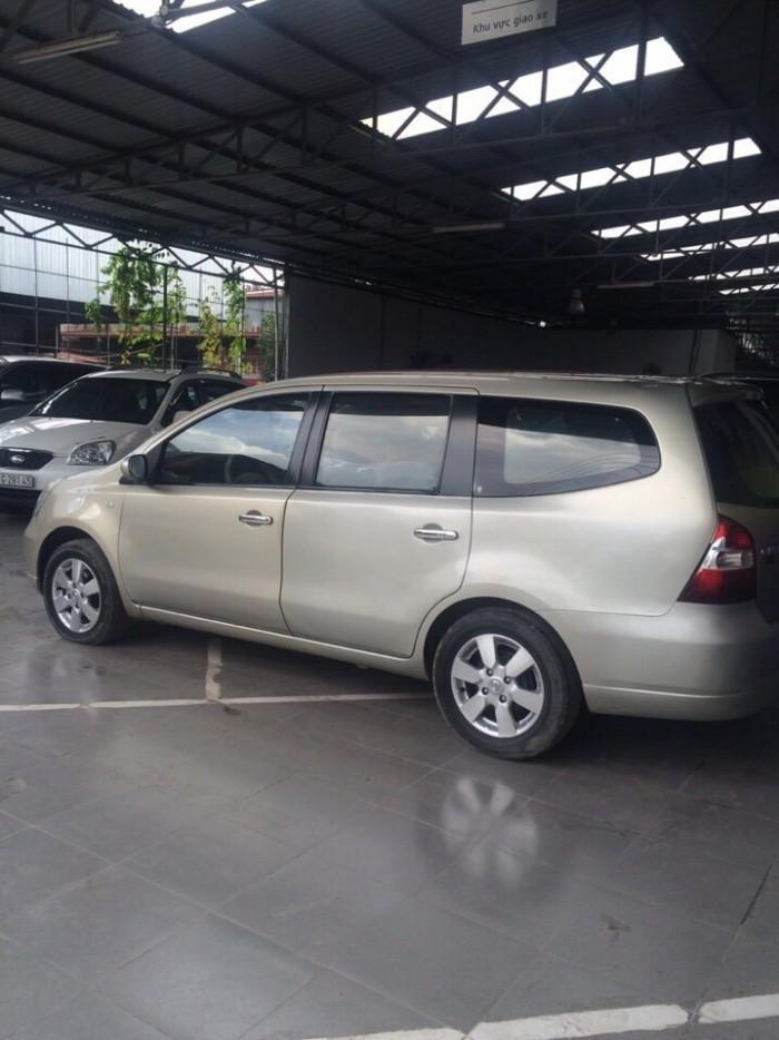 Bán Nissan Grand Livina 7 chỗ số sàn 2010 màu vàng cát biển SG 3