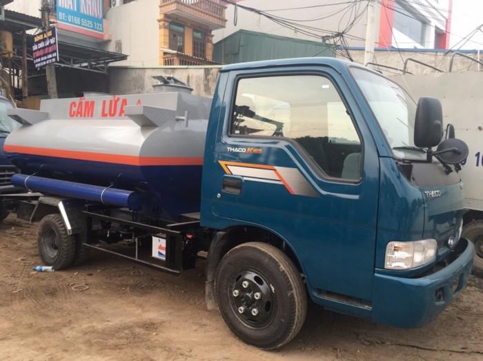 Bán xe téc chở xăng dầu KIA Thaco 3 khối