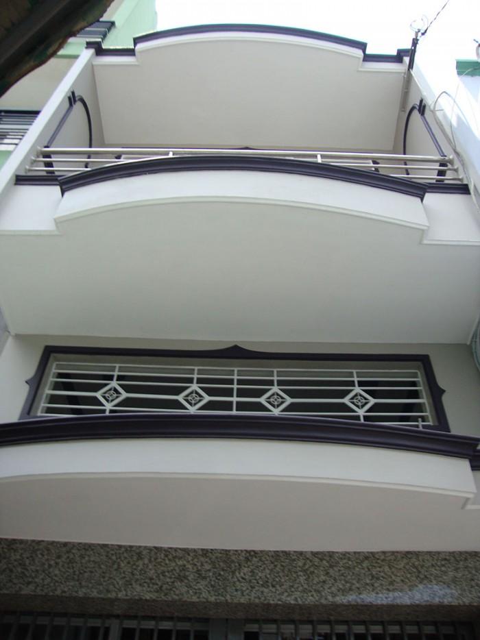 Xuất cảnh bán gấp nhà đúc đẹp 2 lầu 4PN hẻm 4m Âu Cơ, P14, Q11