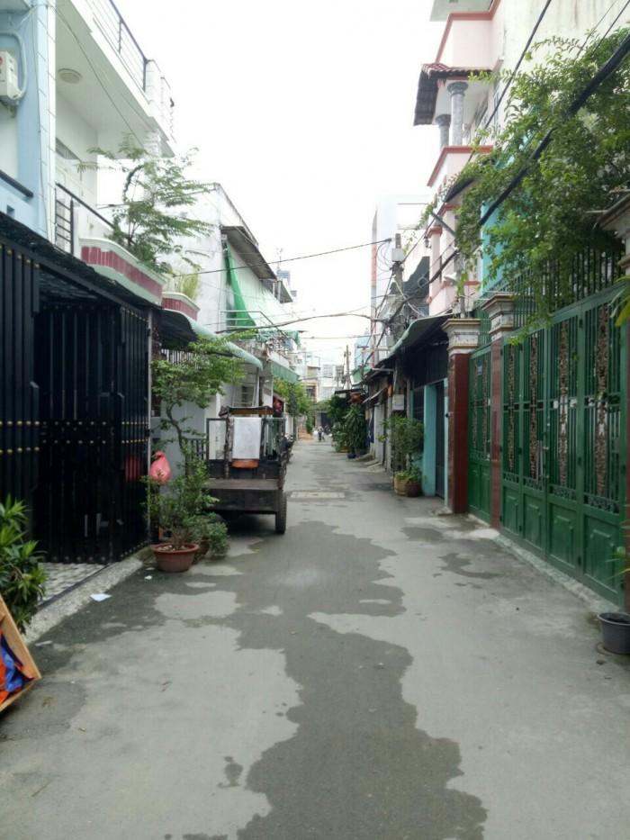 Nhà đường 6M thông, hẻm xe tải đường Nguyễn Tư Giãn, P12 - Gò Vấp